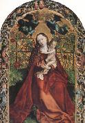 Martin Schongauer The Madonna of the Rose Garden (nn03) oil painting artist